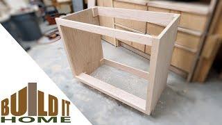 Building The Bathroom Vanity Cabinet - Part 1