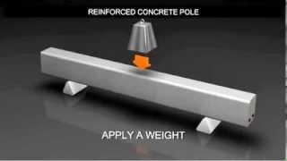 preview picture of video 'Prestressed Concrete عرض رائع لاستخدام الحديد داخل الحرسانة'