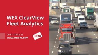 WEX Clearview Fleet Analytics