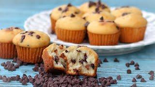 চকলেট চিপ মাফিনস | Chocolate Chip Muffins | Mini Muffins