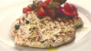 Nick's Chargrilled marinated butterflied chicken breast