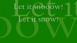 Gambar cover Let it snow! By:Dean Martin Lyrics :)