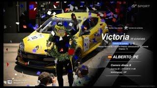 🚩Gran Turismo SPORT Online🚩 Road to Trophy, Record de victorias, 22 Victorias, C.B.Renault S. Megane