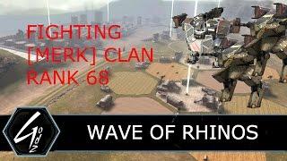 War Robots - WAVE OF RHINOS - [MERK] CLAN - Clan Battle
