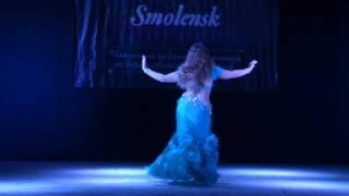 Мария Ахроменко.  Raks al malak Smolensk. Любители начинающие. 4 место.