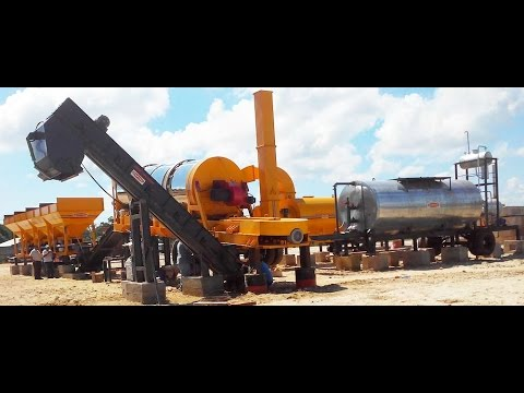 Asphalt Batching and Mixing Plant