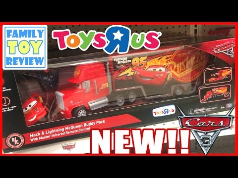 Disney Cars 3 Toys - Mack & Lightning McQueen Buddy Pack Remote Control Thinkway Toys R US Exclusive