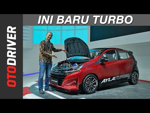 Daihatsu Ayla Turbo Concept 2018   First Impression   OtoDriver   Supported by GIIAS 2018
