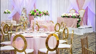 GLITZ & GLAM OVER THE TOP BABY SHOWER| DECORATE WITH US