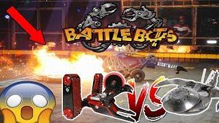BattleBots-ROBOT WARS-Part 2-EPIC-FUNNY-2017-BATTLE BOTS