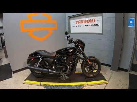 2015 Harley-Davidson Street 500 XG500
