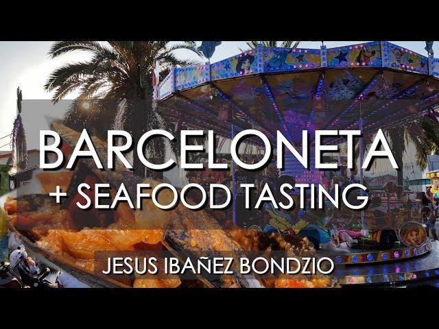 Degustación de Productos de Mar en la Barceloneta