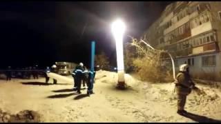 Обрушение дома в городе Шахан Карагандинской области