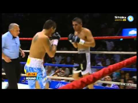 Marcos MAIDANA vs Angel MARTINEZ - WBA - Full Fight - Pelea Completa