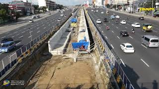 MRT 7 Commonwealth Avenue Track Works Update Oct 1 - 2018