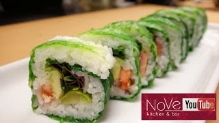 Vegan Roll With A Twist - How To Make Sushi Series