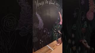 Chalkboard time lapse - Soho House Festival 2017