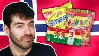 Irish People Try Norwegian Candy