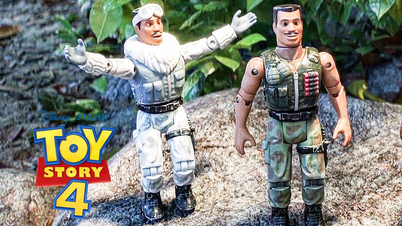 Toy Story 4 Clip: Combat Carl Scene