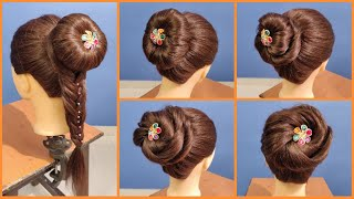 4 Very Easy, Cute 😍 Hairstyles For Special Occasions | Wedding Party Hairstyles |Hairstyle Tutorial