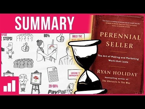 Perennial Seller by Ryan Holiday ► Book Summary