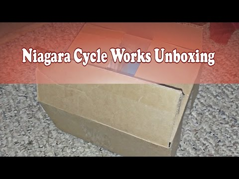 Niagara Cycle Works Unboxing new parts