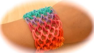 Rainbow Loom Dragon Scale Armband (deutsche Anleitung)