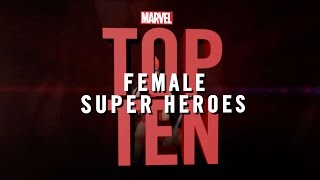 Marvel Top 10 Female Super Heroes