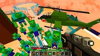 На Нас Напали! День 35 Зомби Апокалипсис в Майнкрафт