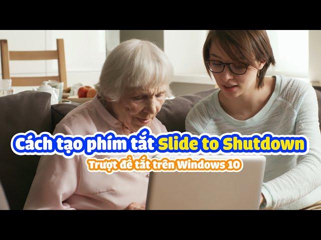 Cách khởi động Slide To Shutdown