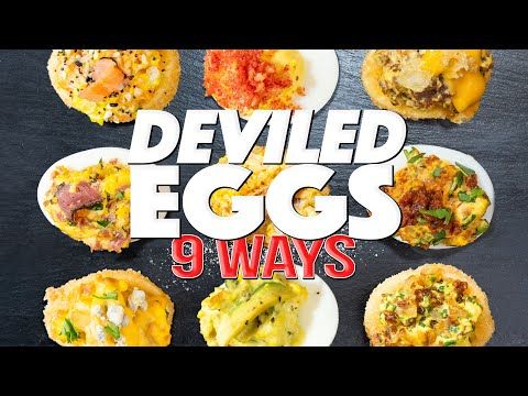 Some Many Ways To Cook Deviled Eggs