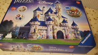 Ravensburger Disney Castle (261 pieces) 3D Puzzel