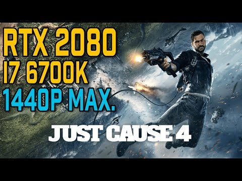 RTX 2080 JUST CAUSE 3 | 2160p/1440p/1080p/Max Settings