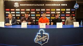Пресс-конференция по итогам хоккейного сезона 2017/2018