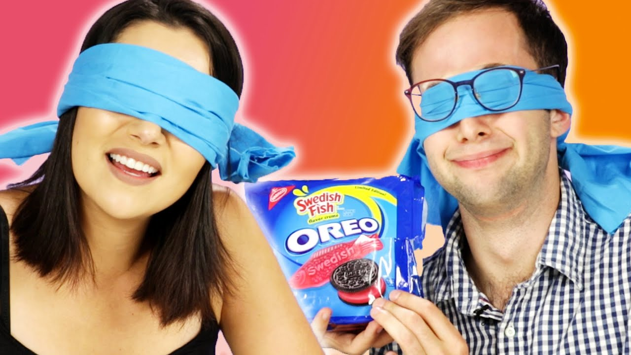 Blindfolded People Guess Oreo Flavors thumbnail