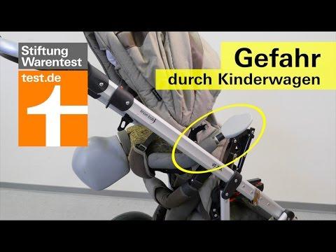 Kippgefahr bei Kinderwagen von Knorr-Baby (Vorab-Info Kinderwagen-Test)