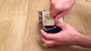 CashCode MVU 1034/1024 (Полная разборка)