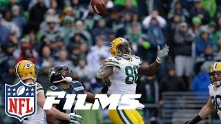 #1 Russell Wilson Leads Seahawks Past Packers   NFL Films   Top 10 Playoff Finishes