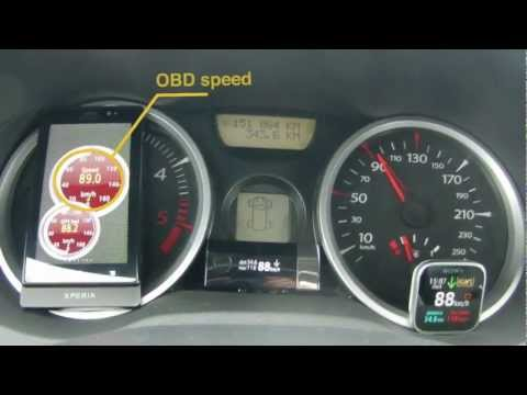 Video of Speedometer / Compass