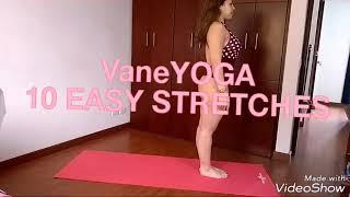 مازيكا Vaneyoga 10 super easy stretches for beginners تحميل MP3