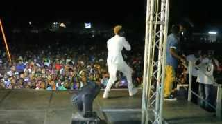 Diamond Platnumz & Davido performing Number One Remix Live in Dar-Part 2