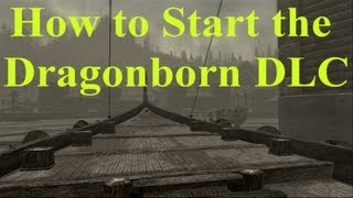 Skyrim Dragonborn DLC: How to Start the Dragonborn DLC Questline