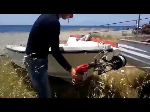 Verricello artigianale barca e gommone ALAGGIO FACILE