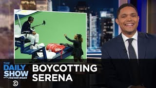 Umpires Threaten to Boycott Serena Williams & Tourists Tempt Fate with a Lion | The Daily Show