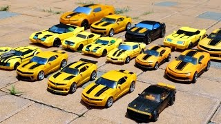 Transformers Bumblebee 17 Vehicle Transformation Robot Car Toys 트랜스포머 범블비 17대 자동차 장난감 로봇 변신 동영상