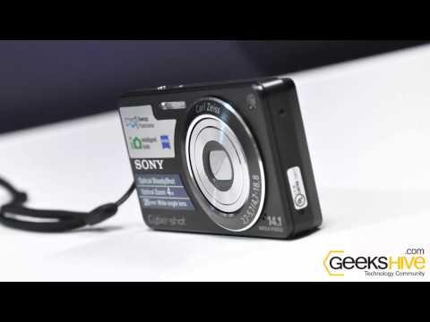 Cámara Digital Sony Cybershot DSC-W350 - review by www.geekshive.com (Español)