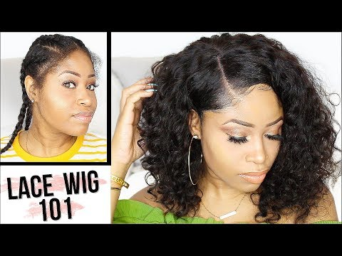 HOW TO APPLY LACE WIG FOR BEGINNERS! - EASY