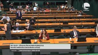 VOTO IMPRESSO - Votação do parecer à PEC 135/19 - 16/07/2021 15:00