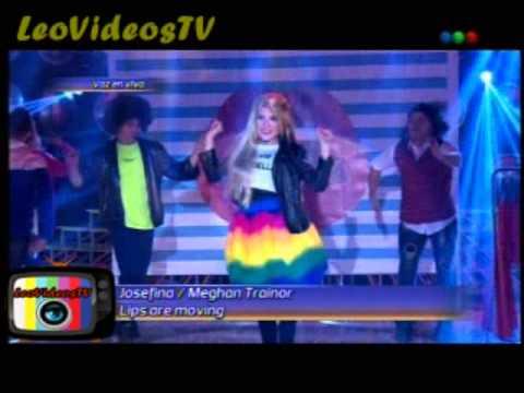 Josefina es Meghan Trainor Tu cara me suena 3 #GH2015 #GranHermano
