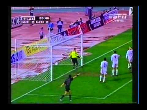 1998 (October 14) Greece 3-Georgia 0 (EC Qualifier...